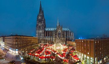 Weihnachtsmarkt am Kölner Dom ©KölnTourismus GmbH, Dieter Jacobi