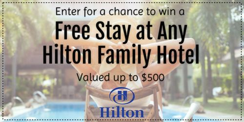 Enter to win a hotel stay with Global Travel International! Choose any Hilton Family Brands hotel valued up to $500 for you and one guest! #giveaway