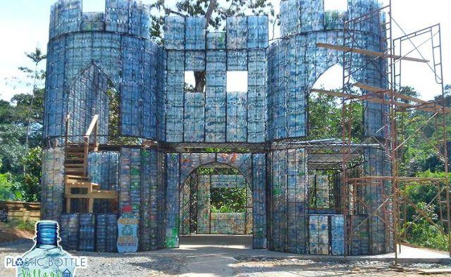 Águas de Pontal: No Panamá, vila é construída apenas com casas feit...