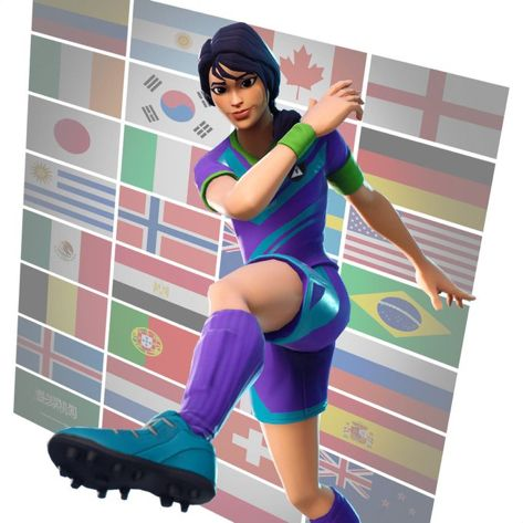 Fortnite Soccer Skins Footy To Us Here In Uk Soccer Fortnite Skin