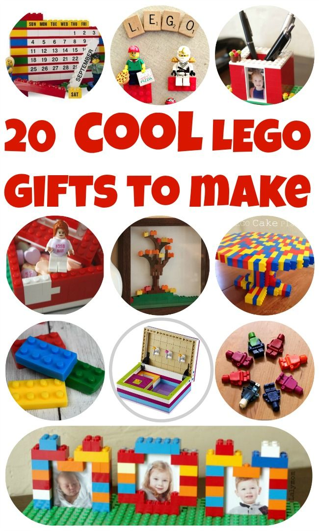 20 EPIC LEGO Gifts to MakeLaura @ Lalymom Kids Crafts & Activities