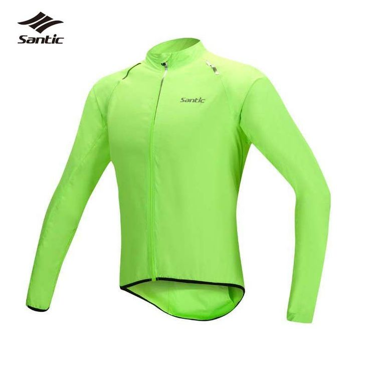 Santic Cycling Jackets Men Windproof MTB Cycle Bike Wind Coat Road Bicycle Rain Jackets Raincoat Jerseys Clothing cyclisme hiver