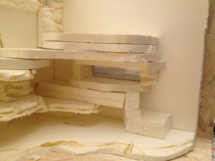 fabrication d'un décor désertique pour terra de 120x60x60