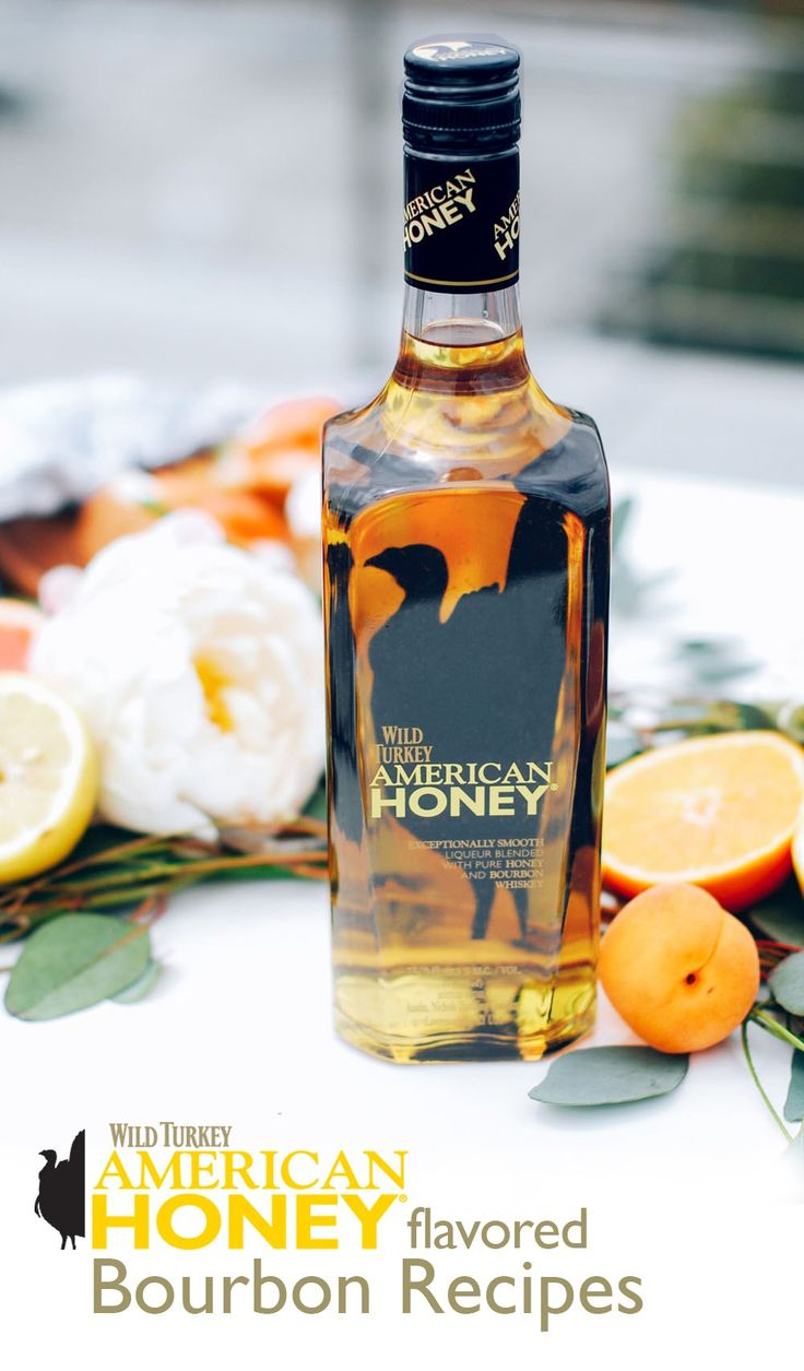 Wild turkey turkey and bourbon cocktails on pinterest for Honey whiskey drink recipes