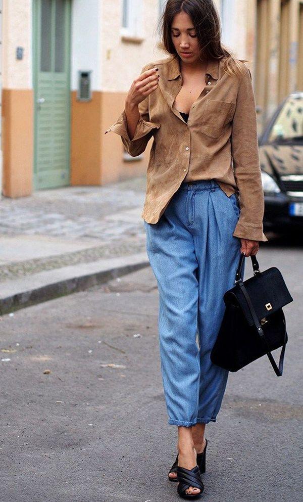 Quem disse que look com Jeans precisa ser básico?! O jeans pode render looks super modernos e cheio de atitude e estilo, tudo depende da sua inspiraçã...