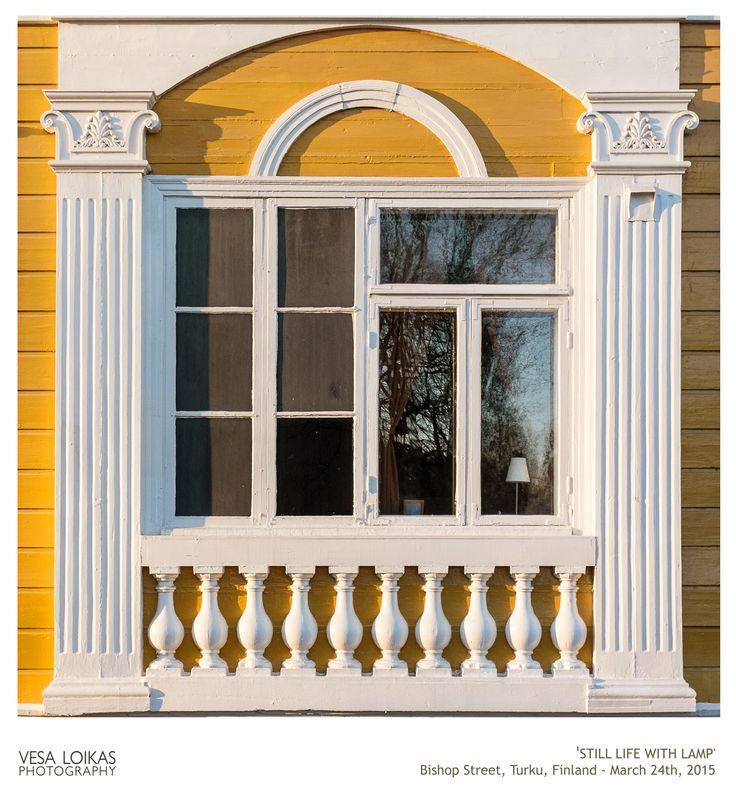 'STILL LIFE WITH LAMP'  Bishop Street, Turku, Finland - March 24th, 2015