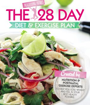 28 DAY CHALLENGE HARD COVER DIET AND EXERCISE BOOK