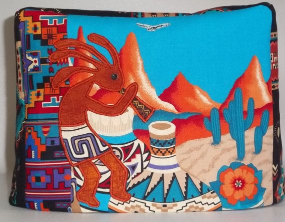 Southwestern Toaster Cover  Kokopelli by PatsysPatchwork on Etsy, $18.00
