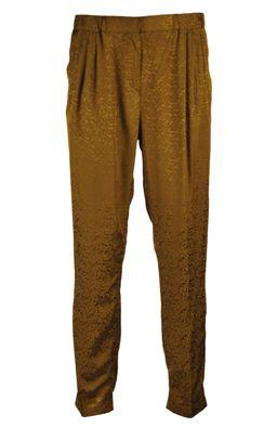 Pantaloni Massimo Dutti Tiner Light Brown | Kurtmann.ro