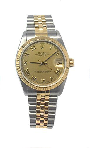 Rolex Datejust automatic-self-wind womens Watch 68273 (Certified Pre-owned) * Co...