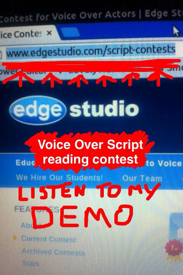This weeks #VoiceOver #VO script reading contest. Search for 'David Gelkin' to listen to my read.