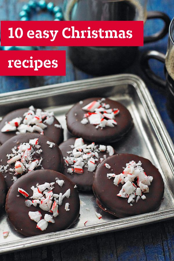 78 images about christmas recipes on pinterest hot for Quick and easy christmas dessert recipes
