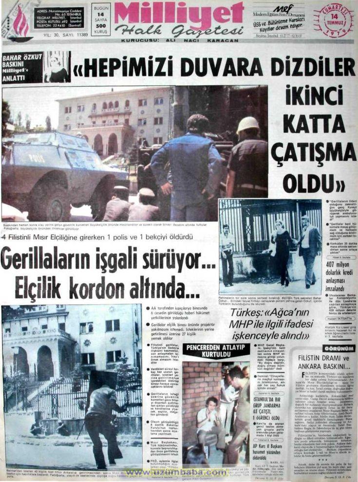 Milliyet gazetesi 14 temmuz 1979