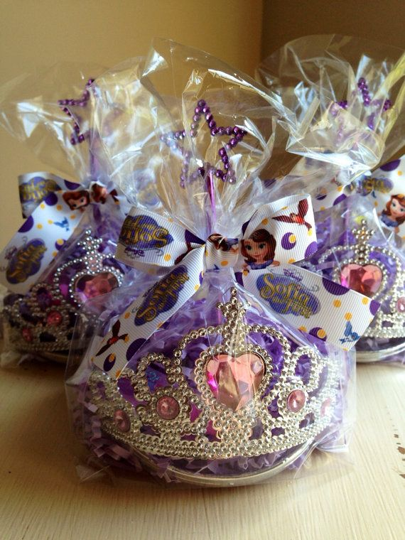 Sophia the first favors by rizOHcollection on Etsy, $6.99