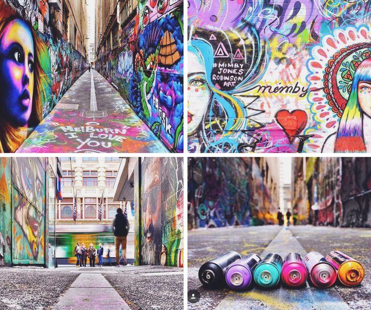 ¡Las calles de #Melbourne hablan!  No dejes de explorar la ciudad en busca de las mejores obras de #StreetArt!! Y no te olvides de contarnos cuál es tu preferida cuando estés por allí!!   Fotos --> @melbourneiloveyou (instagram)