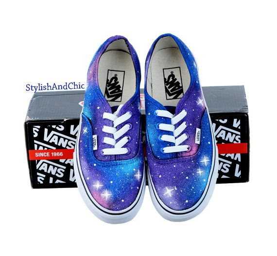 Galaxy Vans  Hand Painted by StylishAndChic on Etsy, $90.00
