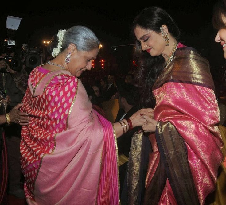 Rekha and Jaya Bachchan seen together