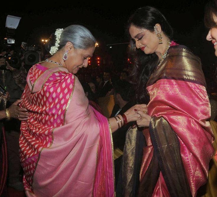 Rekha and Jaya Bachchan seen together
