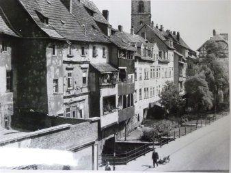 Foto Historische Ansicht Der Kramerbrucke C Stadtverwaltung Erfurt Kramerbrucke Erfurt Egapark Erfurt