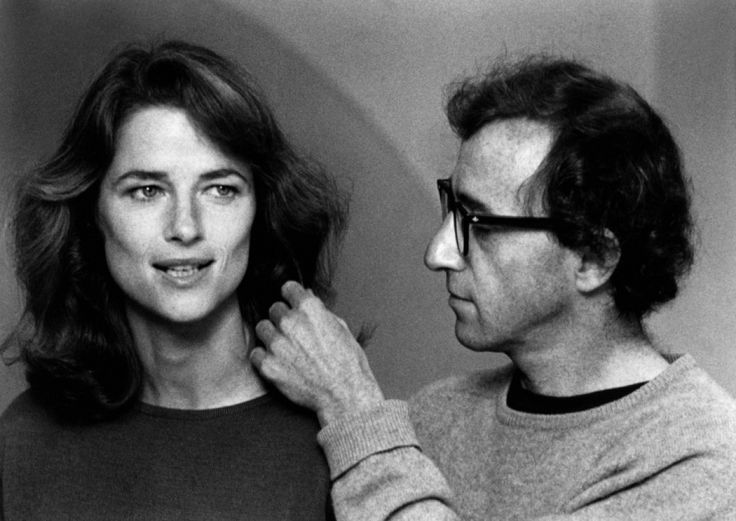 Charlotte Rampling and Woody Allen in Stardust Memories directed by Woody Allen, 1980