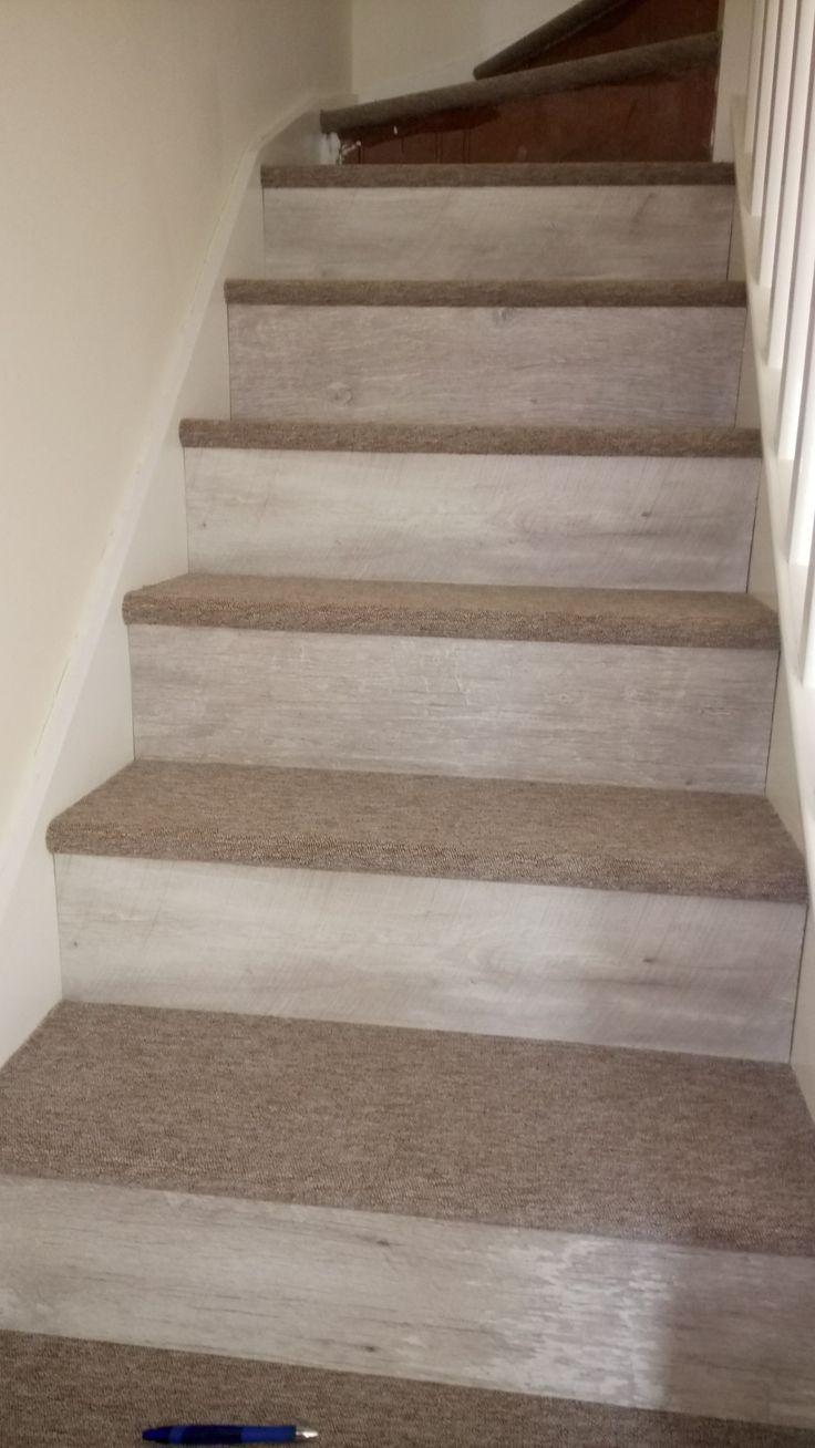 Carpet & laminate flooring  stairs