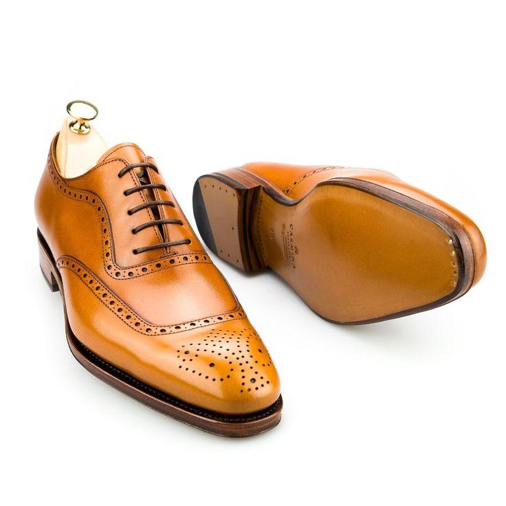 zapatos oxford para hombre en box calf cuero