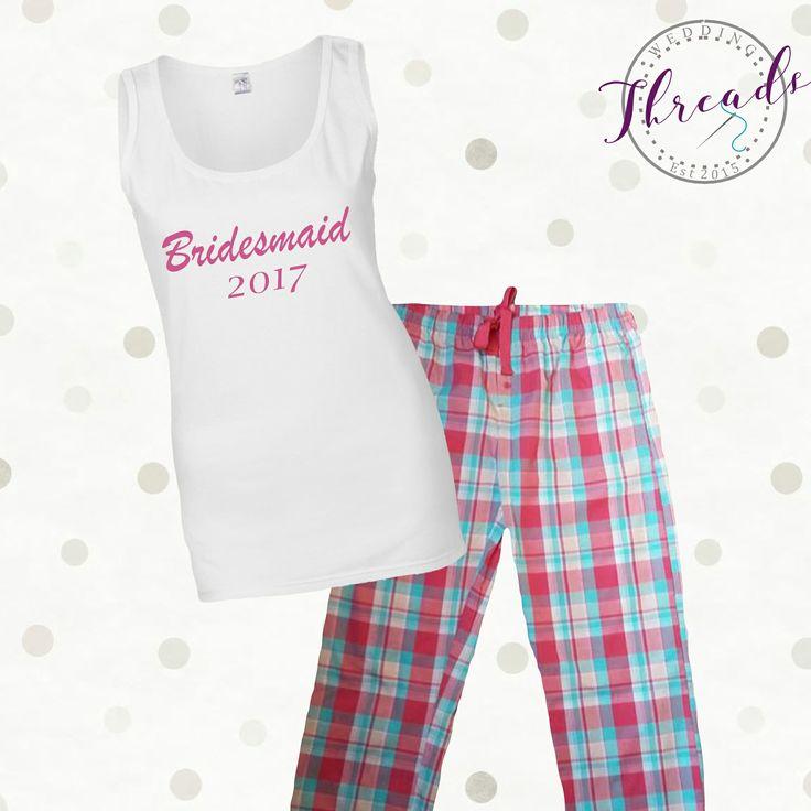 Checked Bride Pyjamas