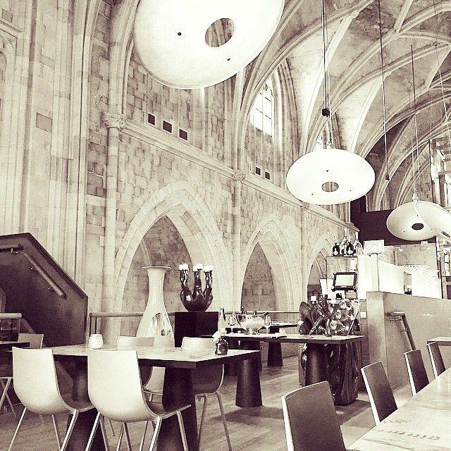 Mtricht by @_inge - restaurant of the #kruisheren #hotel in  #maastricht #mtricht