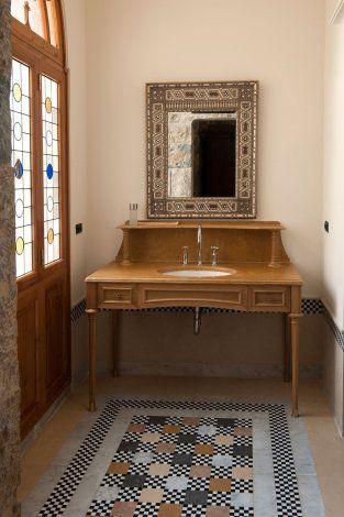 bathroom bikfaya residence by serge brunst