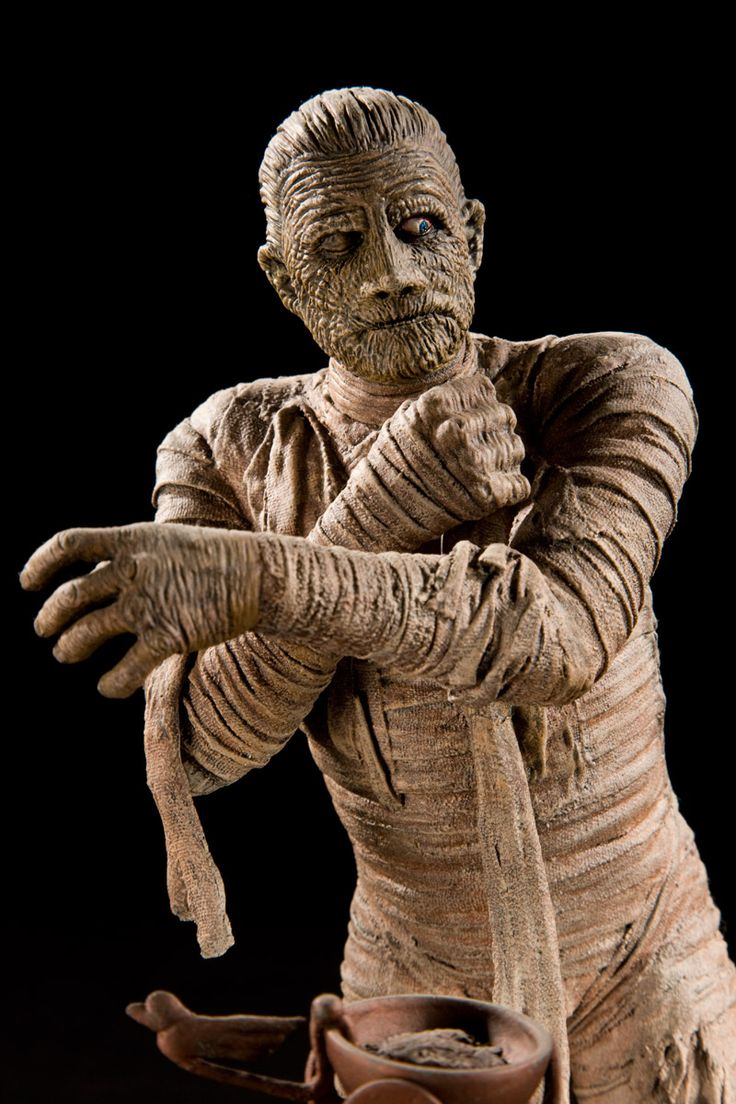 how to make an egyptian mummy model
