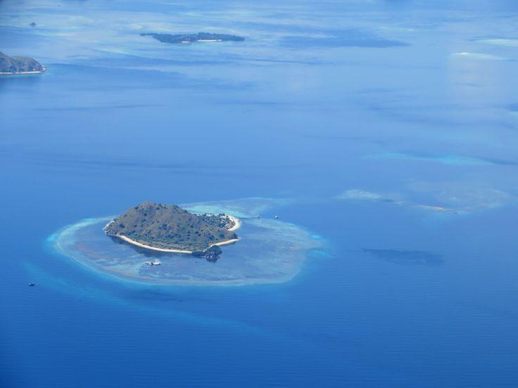Bird's view of Kanawa Island