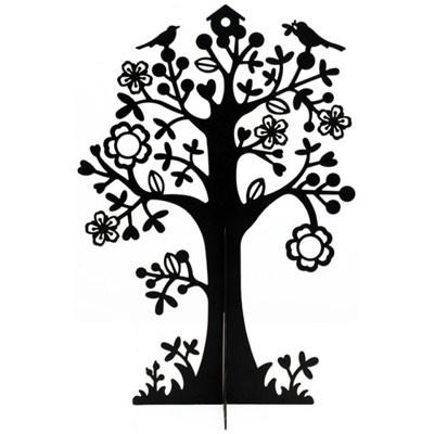 Sieradenboom Zwart 25cm