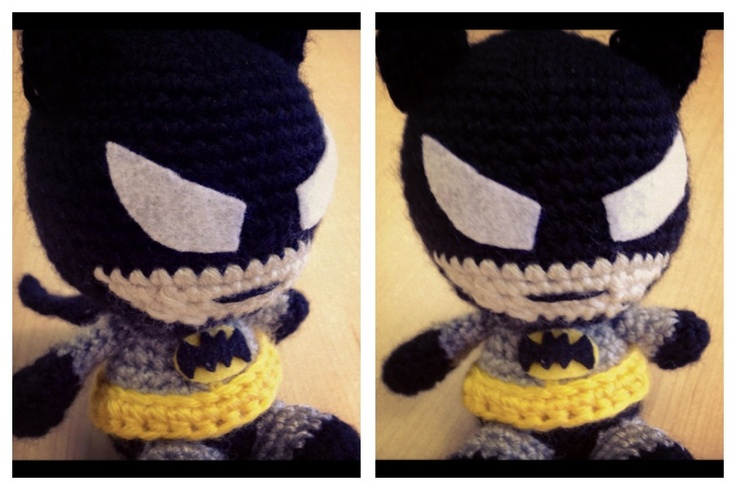 Amigurumi Crochet Batman : Amigurumi crochet Batman Geek Pinterest