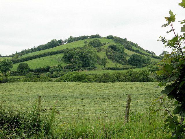 Bryn Myrddin. Merlin's Hill near Carmarthen #Solstice