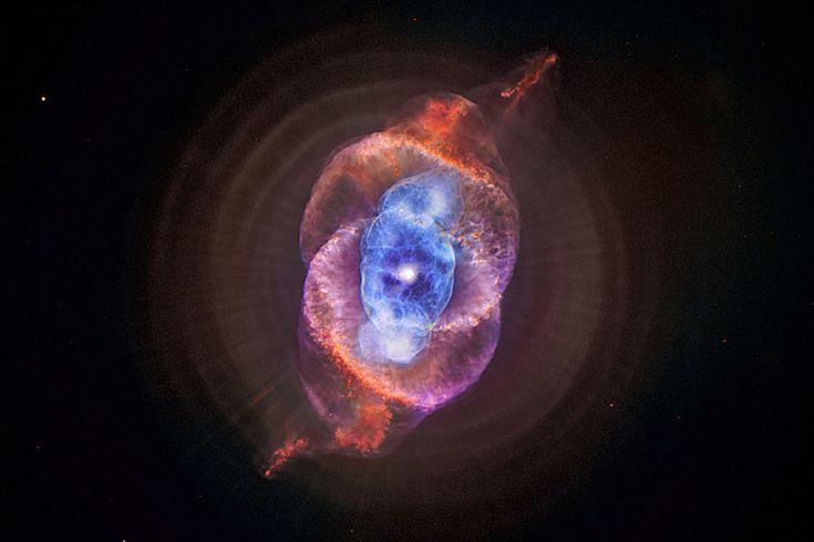 Les rayons X de la nébuleuse de l'oeil de Chat