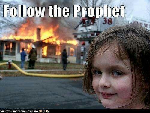 Oh no.... PRESIDENT Monson, grassfire talk....