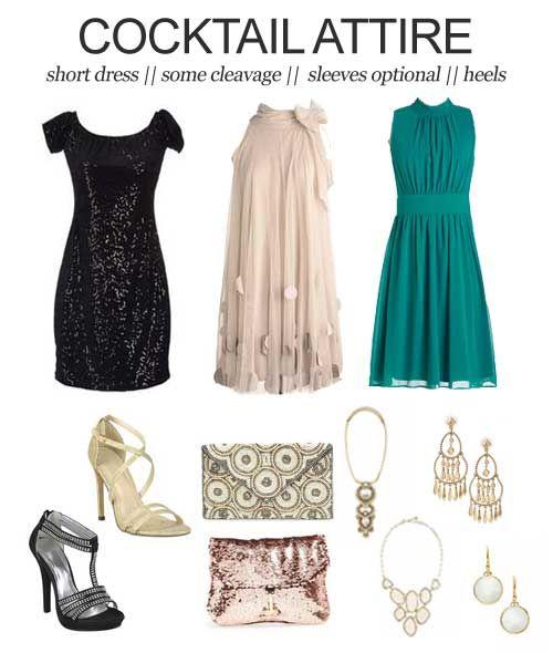 Attire cocktail dresses
