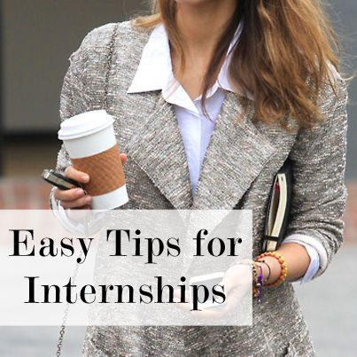 8 tips for starting your internship off right