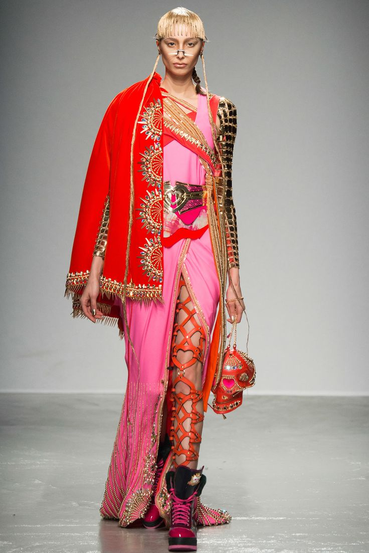 """""""What can I say? It's Manish Arora."""" Fall 2015 RTW Collection - Style.com. Long live fashion: LÜR Nail presents the best designer runway looks of the Paris Autumn/Winter 2015 Collections."""