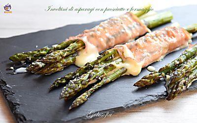 Involtini di asparagi, prosciutto e formaggio-ricetta sfiziosissima