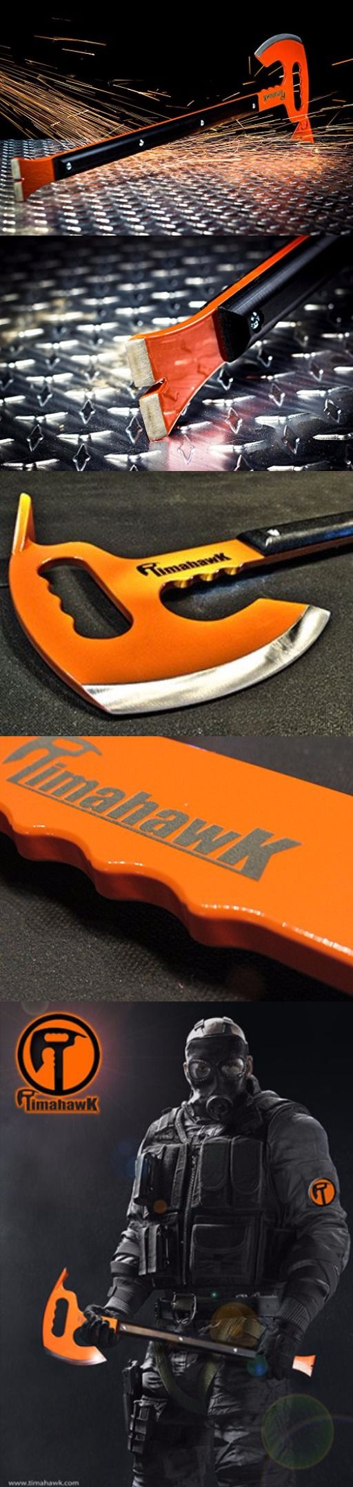Timahawk Ultimate Survival Multi-Tool Timahawk Axe USA