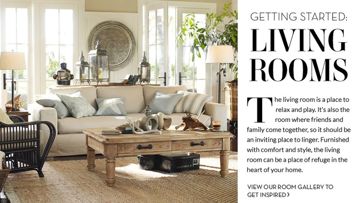 .: Idea, Color, Living Room, Pottery Barn