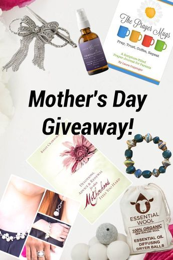 Mother's Day Gift Guide & Giveaway! Win prizes worth up to $221 in value! | unique Mother's Day gift ideas