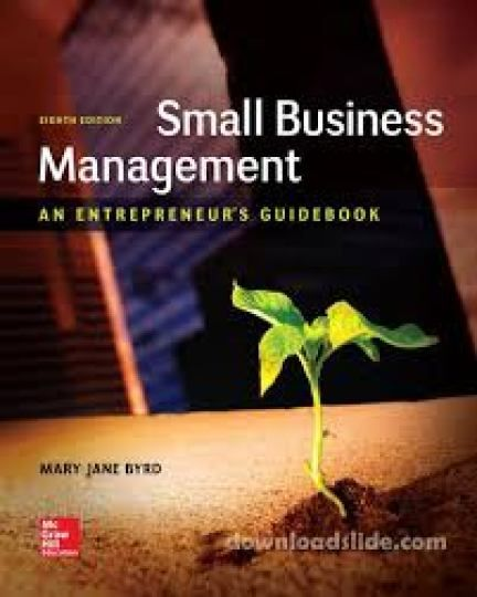 Free download Small business management, an entrepreneur's guidebook, 8th edition business pdf book by Leon C. Megginson and Mary Jane Byrd.
