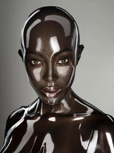 Synthetic Naomi Campbell