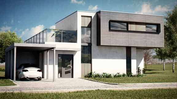 Conjuguer architecture contemporaine et performance constructive - architecture contemporaine maison individuelle