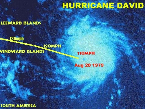 Hurricane David 1979