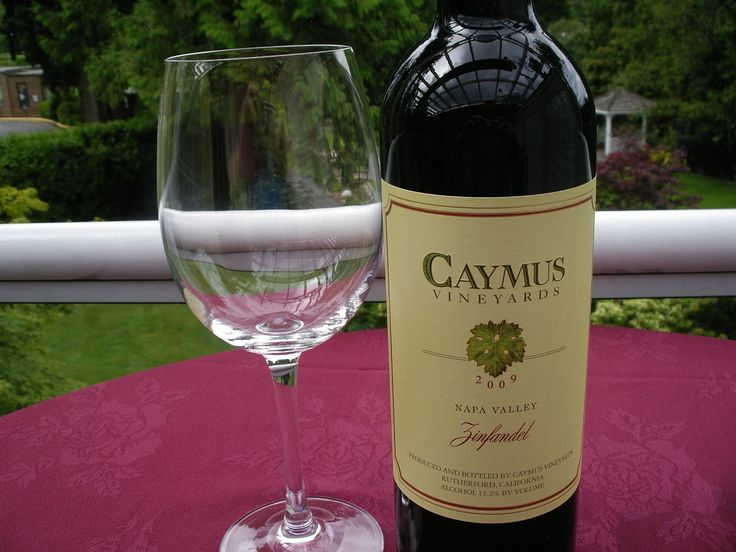 Caymus Vineyards this favourite Zinfandel from Napa is a deep purple colour. the nose explodes with ultra ripe raisin and black cherry with some peppery notes. if you like full-bodied wine, then you won't be disappointed with this classic. Available in the Westward Ho! but also for Weddings and Banquets by the bottle.