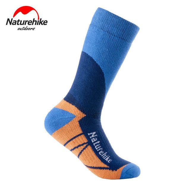 NatureHike Men's Socks Men Outdoor Sock Quick-Drying Women Sport Socks Winter Thermal Socks For Men Women Snow Peak Hiking