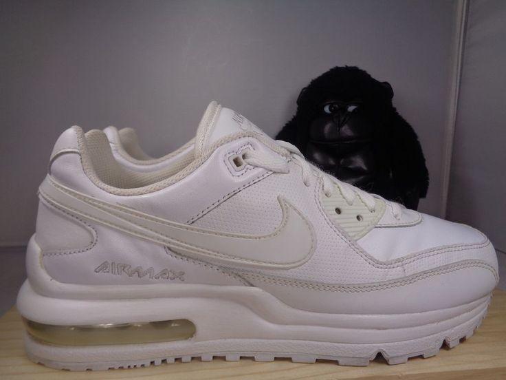 Kids Nike Air Max Wright LTD White 317934-111 Basketball shoes size 7 #Nike #Athletic